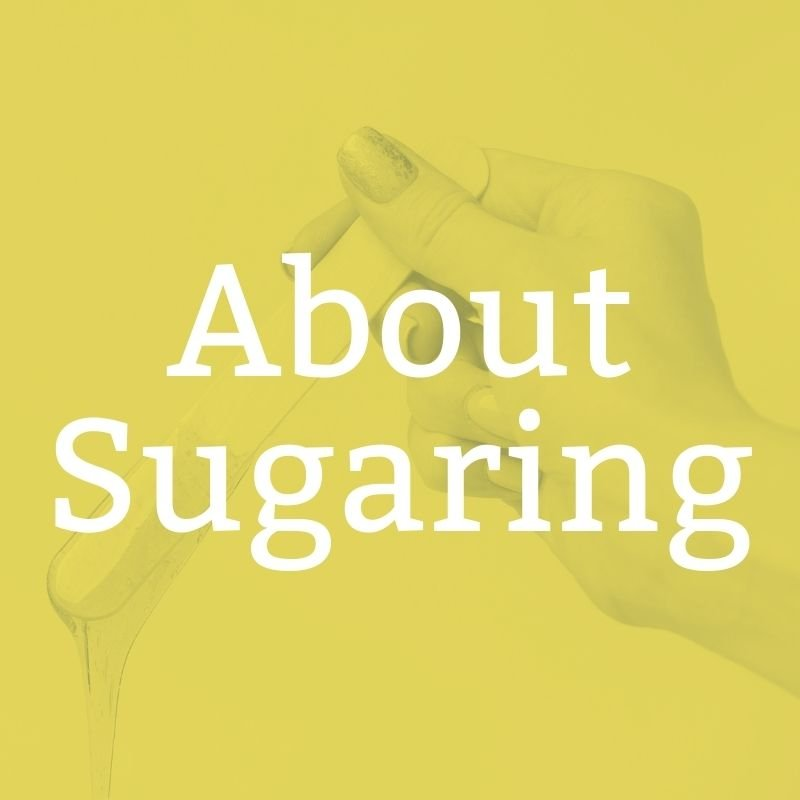 about sugaring button